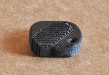 Impressão 3D feita em máquina de tecnologia FFF.